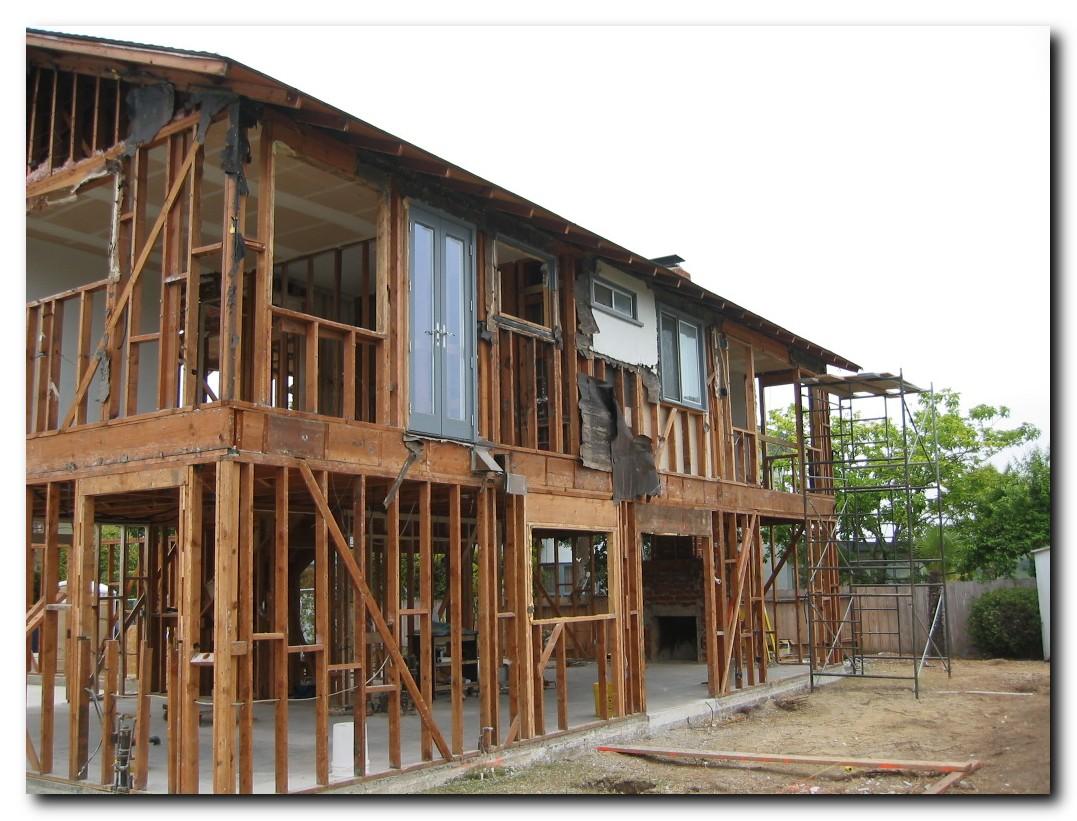 Дом на деревянном каркасе