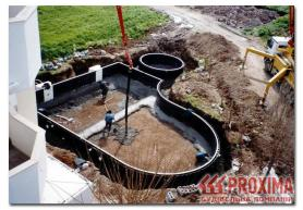 Строим пруд. Строительство искусственного озера.