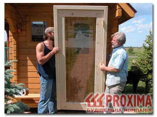 Как сделать стеклянную дверь в баню
