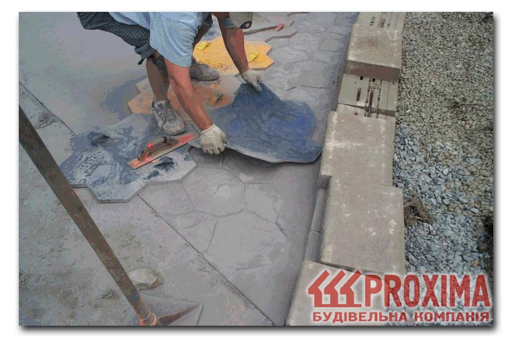 Декоративный бетон своими руками 958