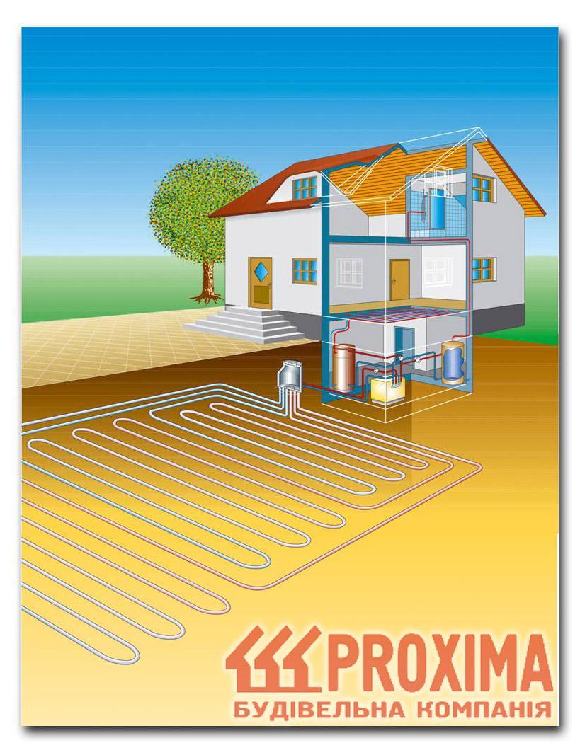 солнечное отопление для дома схема