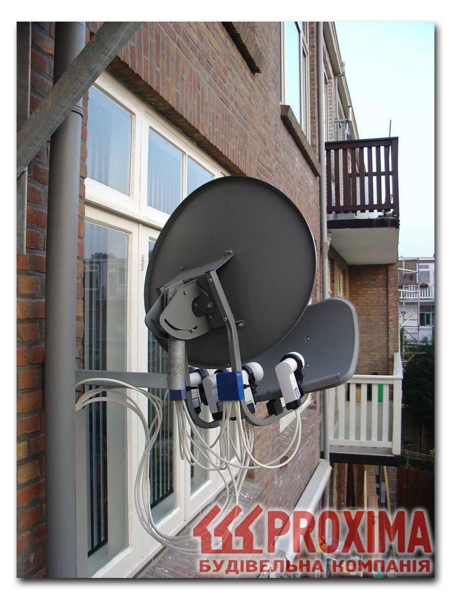 Настройка спутниковой антенны при помощи прибора Sat 7