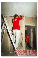 Монтаж внутренней электропроводки в доме.